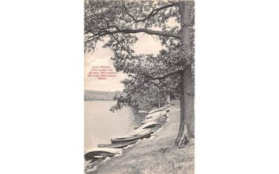 Lake Waban Wellesley, Massachusetts Postcard