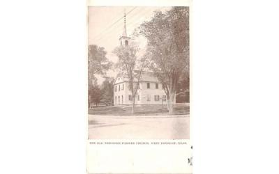 The Old Theodore Parker Church West Roxbury, Massachusetts Postcard