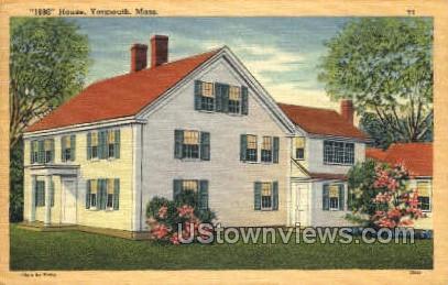 1680 House - Yarmouth, Massachusetts MA Postcard