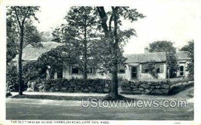 The Old Thacher House - Yarmouthport, Massachusetts MA Postcard