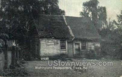 Washington's Headquarters - Frederick, Maryland MD Postcard