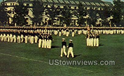 Brigade of Midshipman - Annapolis, Maryland MD Postcard