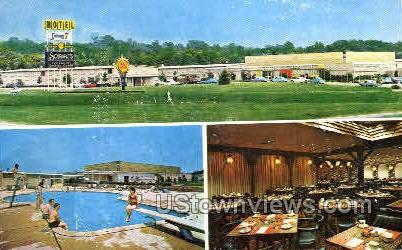 Colony 7 Motor Inn - Baltimore, Maryland MD Postcard