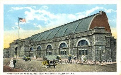 Fifth Regiment Armory - Baltimore, Maryland MD Postcard