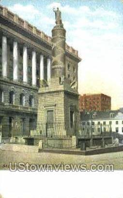 Battle Monument - Baltimore, Maryland MD Postcard