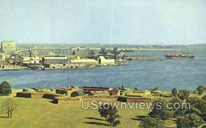 Fort McHenry National Monument - Baltimore, Maryland MD Postcard