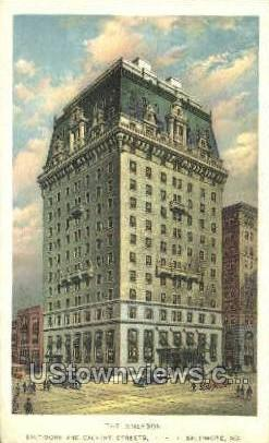 The Emerson - Baltimore, Maryland MD Postcard