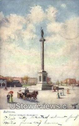 Revolutionary Monument - Baltimore, Maryland MD Postcard