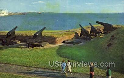 Ft McHenry National Monument - Baltimore, Maryland MD Postcard