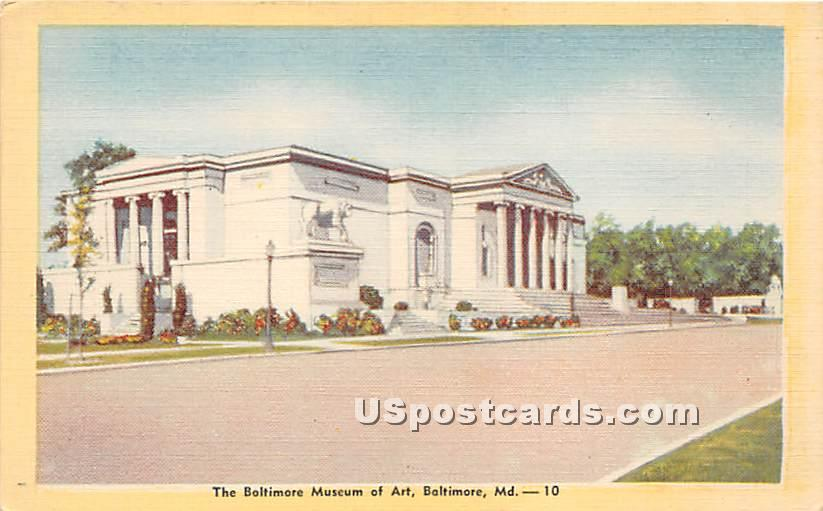 Baltimore Museum of Art - Maryland MD Postcard