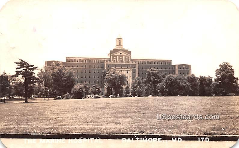 The Marine Hospital - Baltimore, Maryland MD Postcard