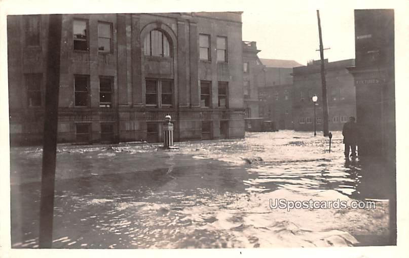 Flood - Cumberland, Maryland MD Postcard