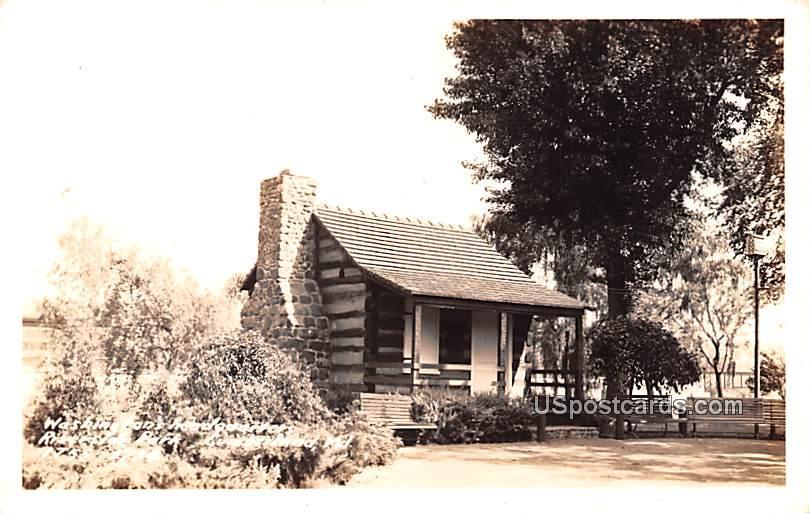 Washington Headquarters - Cumberland, Maryland MD Postcard