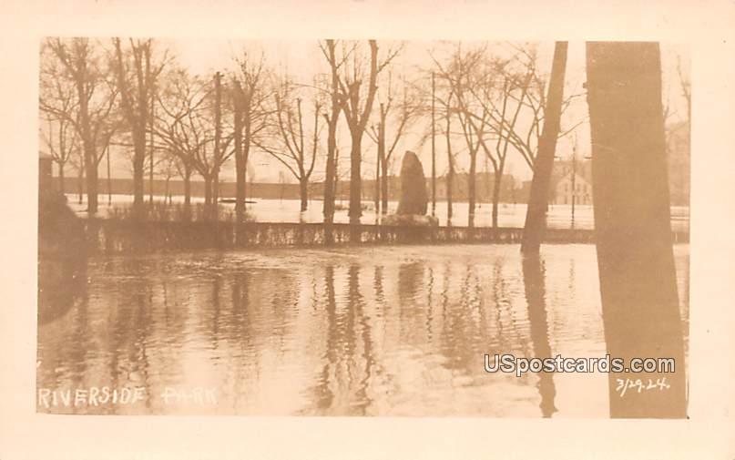 Riverside Park - Cumberland, Maryland MD Postcard