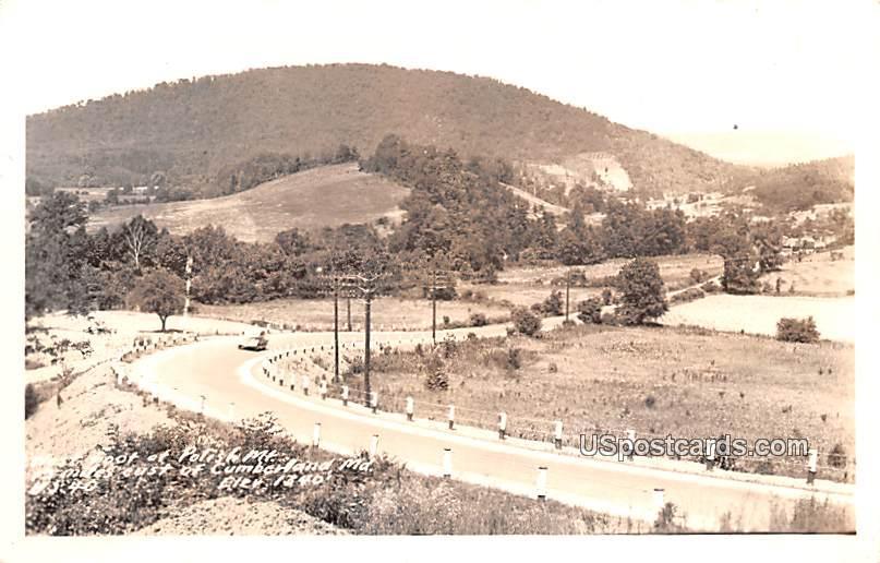 Polish Mountain - Cumberland, Maryland MD Postcard