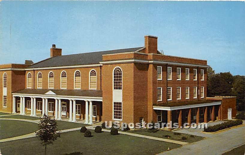 Gambrill Gymnasium, Hood College - Frederick, Maryland MD Postcard