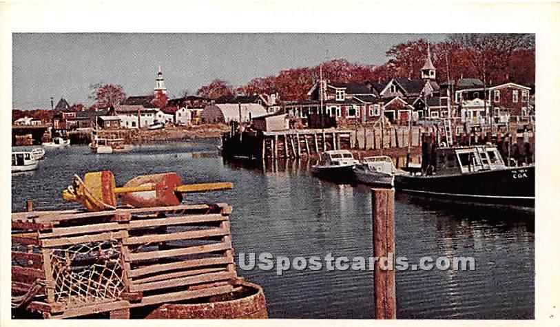 Kennebunkport Harbor - Maryland MD Postcard