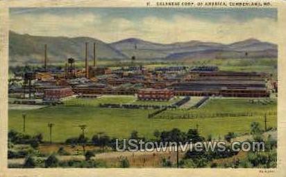 Celanese Corp Of America - Cumberland, Maryland MD Postcard