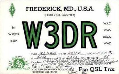 Frederick, MD     ;     Frederick, Maryland Postcard