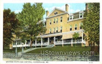 Western Maryland Hospital - Cumberland Postcard