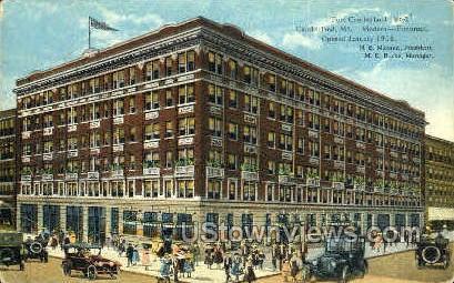 Fort Cumberland Hotel - Maryland MD Postcard