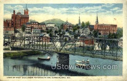 Cumberland, MD, Maryland Postcard