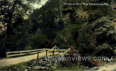 Reynolds Gap - Cumberland, Maryland MD Postcard