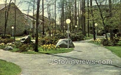 Broadwalk - Rossmoor, Maryland MD Postcard