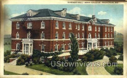 Shrinner Hall, Hood College - Frederick, Maryland MD Postcard