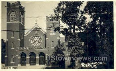 Grace Reformed Church - Frederick, Maryland MD Postcard