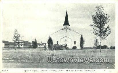 Aberdeen Proving Grounds - Maryland MD Postcard