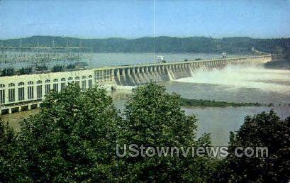 Conowingo Dam - Maryland MD Postcard
