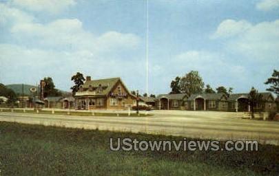Masser's Motel & Restaurant - Frederick, Maryland MD Postcard