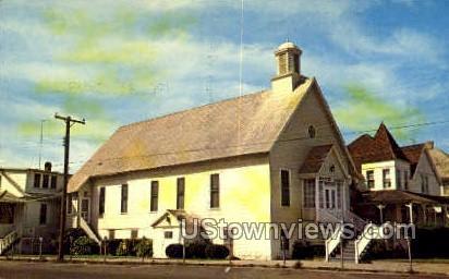 Baptist Church - Ocean City, Maryland MD Postcard
