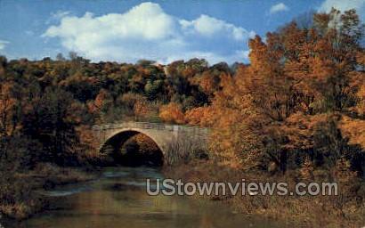 Castlemans River Bridge - Cumberland, Maryland MD Postcard