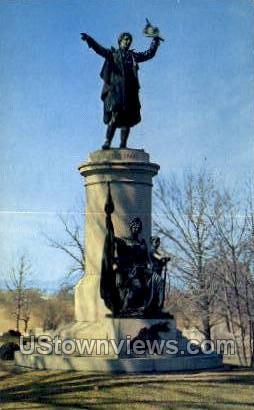 Francis Scot Key Grave - Frederick, Maryland MD Postcard