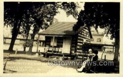 Real Photo - Washington's Headquarters - Cumberland, Maryland MD Postcard