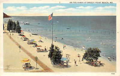 Breezy Point Beach MD