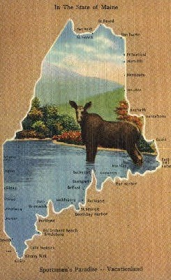 In the State of Maine - Misc Postcard