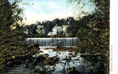 Bond Brook - Augusta, Maine ME Postcard