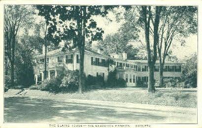 The Blaine House - Augusta, Maine ME Postcard