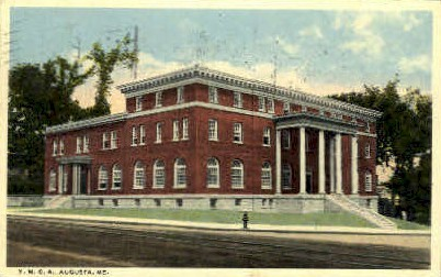 Y.M.C.A.  - Augusta, Maine ME Postcard