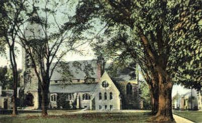 Saint Mark's Church - Augusta, Maine ME Postcard