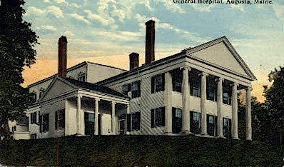 General Hospital - Augusta, Maine ME Postcard