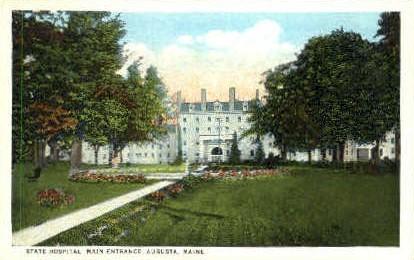 State Hospital - Augusta, Maine ME Postcard