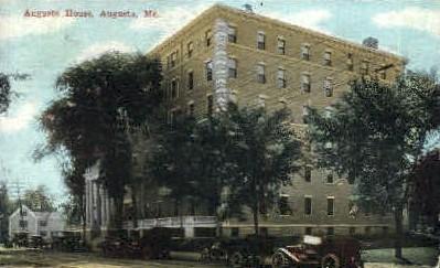 Augusta House - Maine ME Postcard
