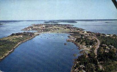 Mackerel Cove - Bailey Island, Maine ME Postcard