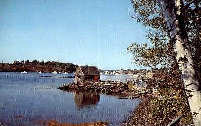 Lobster Shack - Bailey Island, Maine ME Postcard