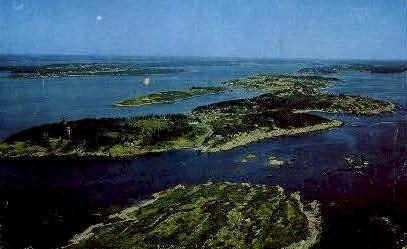 Bailey Island, Maine, ME Postcard