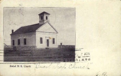 Bethel M.E. Church - Maine ME Postcard